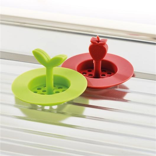 2 leaf/strawberry sink strainers