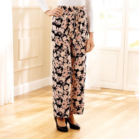 Pantalon fluide Lot 2 pantalons (rose + bleu) - taille L/XL