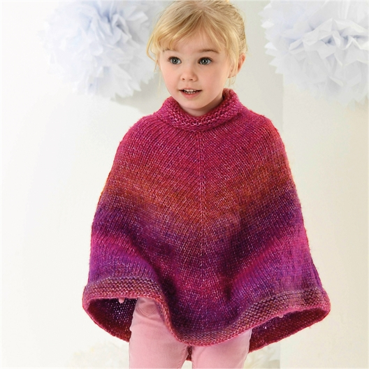 Pattern for connect poncho n°1