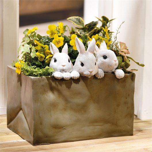 Jardinière lapins