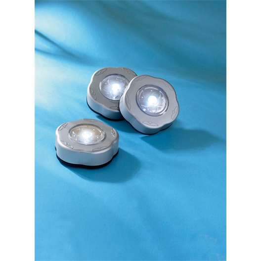 Set of 3 Adhesive led Lamps
