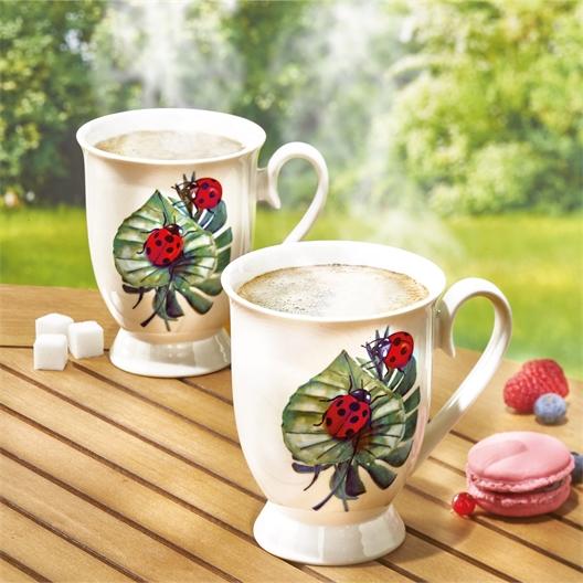2 mugs coccinelle