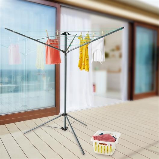 Umbrella clothes line
