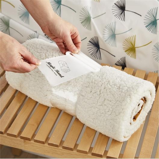 Twee dekenwikkelbanden