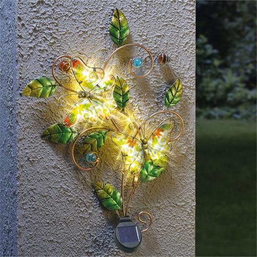Envol de papillons solaire