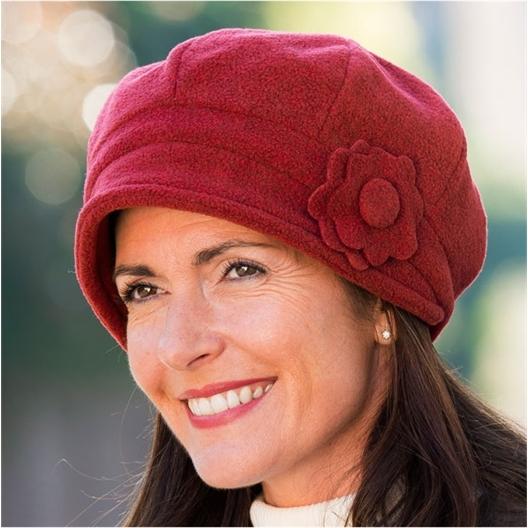 Double thickness fleece hat
