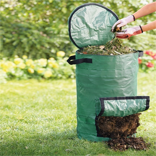 Movable compost bin