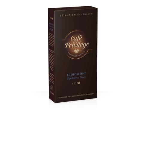 3 x 10 capsules café décaféiné