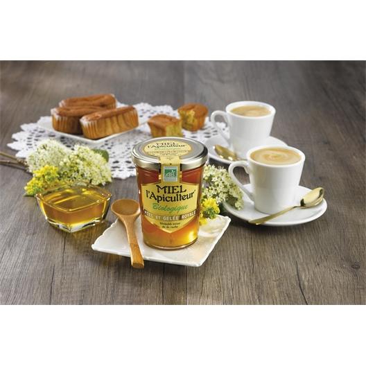 Pot miel et gelée royale bio 250g