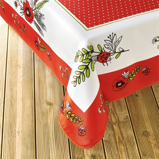 Poppy tablecloth Rectangular