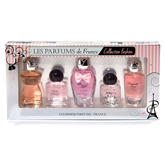 Coffret de 5 parfums miniatures