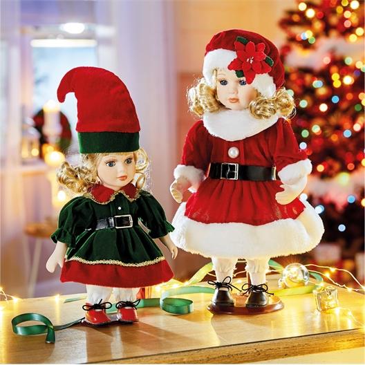 Kleine oder große Weihnachtsschwester