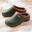 Fur-lined clogs Green - size 4