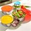5 boîtes saladier inox