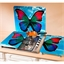 Wandbeschermer met dagvlinder
