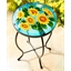 Sunflower pattern occasional table