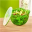 2 in 1 green salad bowl