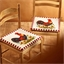 2 stoelkussens Haan