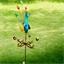 Peacock weathervane