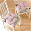 2 rose patchwork cushions