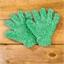 Gant chenille microfibre / 2 gants chenille microfibre