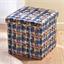 Cube de rangement tressage