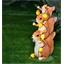 3 eekhoorns op zonne-energie
