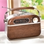 Vintage radio, bruin