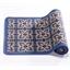 Tapis carreaux de ciment bleu 50 x 80 cm