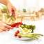 Red asparagus peelers