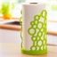 Green bubble kitchen roll holder