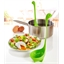 Set mit 2 Schöpfkellen für pochierte Eier, grün
