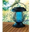 Spiral mosquito-zapper lamp