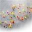 Guirlande LED multicolore