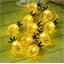 Solar pineapple garland