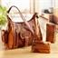 Lot sac et ses accessoires patchwork