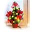 Minikerstboom met leds of Set van 2