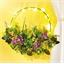 LED spring garland