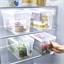 Fridge storage container or set of 2