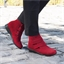 "Bottines ""Camille"" Rouge ou Noir"
