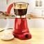 Rood, elektrisch Italiaans koffiezetapparaat