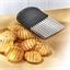 Gegolfde aardappelsnijder