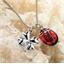 Anhänger Käfer und Kleeblatt