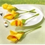 4 porte-serviettes tulipe ou 2 lots de 4 porte-serviettes tulipe