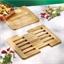 Extendable bamboo trivet