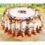 Circular autumn berries tablecloth or rectangle