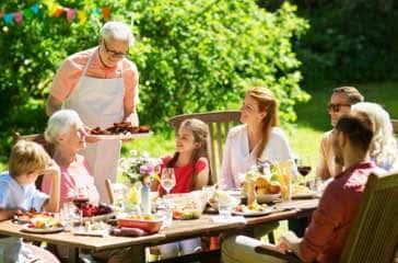Vos repas d'été au jardin