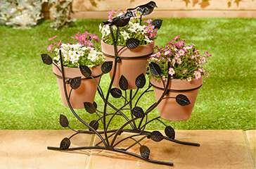 Garden and outdoor decor items